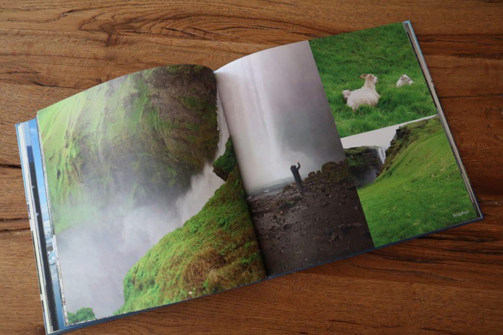 Fotobuch Doppelseite mit mehreren Bildern