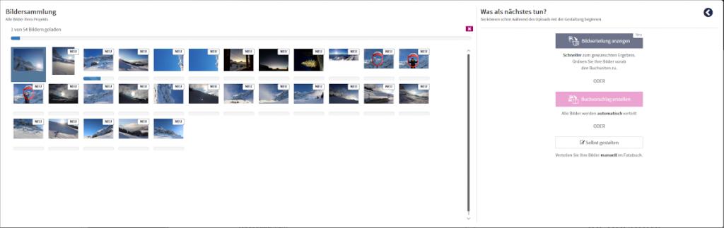 Bilder-Upload FotoPremio-Editor