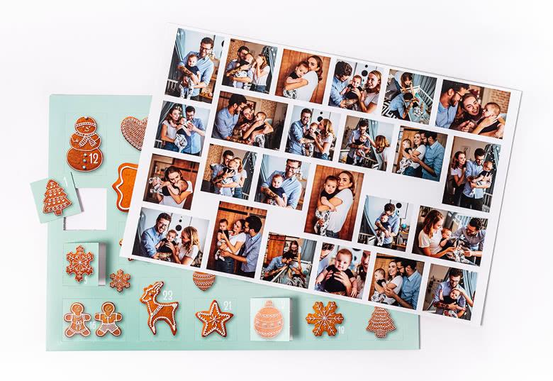 Foto-Adventskalender und Poster mit allen Fotos